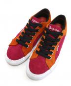 SUPREME×VANS(シュプリーム×ヴァンズ)の古着「ローカットスニーカー」|オレンジ×ピンク