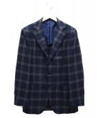 SOVEREIGN(ソブリン)の古着「段返り3Bジャケット」 ネイビー