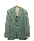 SOVEREIGN(ソブリン)の古着「段返り3Bジャケット」|グリーン