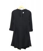 mame(マメ)の古着「フレアワンピース」|ブラック