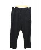 DEUXIEME CLASSE(ドゥーズィエムクラス)の古着「セイヒンゾメミリタリーパンツ」|ブラック