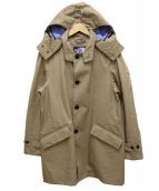 THE NORTH FACE(ザノースフェイス)の古着「GORE-TEXフード付ステンカラーコート」 ベージュ
