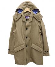 THE NORTH FACE(ザノースフェイス)の古着「GORE-TEXフード付ステンカラーコート」|ベージュ