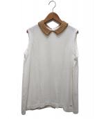 45R(フォーティーファイブアール)の古着「オーガニックピマバスケットカノコシャツ」|ホワイト