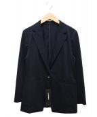 LAUTRE AMONT(ロートレアモン)の古着「コンパクトT400王道テーラードジャケット」|ネイビー
