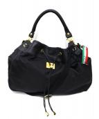 Orobianco(オーロビアンコ)の古着「2WAYショルダーバッグ」|ブラック