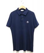 MONCLER(モンクレール)の古着「ポロシャツ」|ネイビー