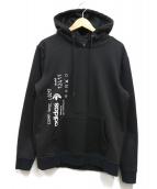 adidas originals by ALEXANDER WANG(アディダスオリジナルスバイアレキサンダーワン)の古着「Graphic Hoodie」|ブラック