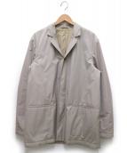 JIL SANDER(ジルサンダー)の古着「ナイロンタフタ3Bジャケット」|ベージュ