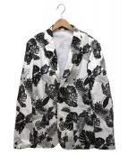 LOVELESS(ラブレス)の古着「アイランドホッパージャケット」|ホワイト×ブラック