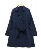 icB(アイシービー)の古着「ナイロンタフタトレンチコート」|ネイビー