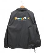 SWAGGER(スワッガー)の古着「コーチジャケット」|グレー