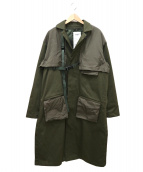 SWAGGER(スワッガ)の古着「LONG ENGINEER SWITHED COAT」|オリーブ