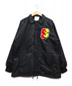 SWAGGER(スワッガー)の古着「裏ボアコーチジャケット」|ブラック