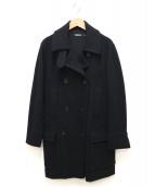 DKNY(ダナキャランニューヨーク)の古着「ダブルブレストコート」|ブラック