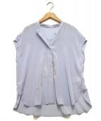 Noble(ノーブル)の古着「ルーズフレンチスリーブプルオーバー」|ブルー