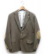 HACKETT LONDON(ハケットロンドン)の古着「テーラードジャケット」|ベージュ
