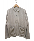 crepuscule(クレプスキュール)の古着「ニットシャツ」 アイボリー