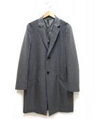 Calvin Klein(カルバンクライン)の古着「ライトウールチェスターコート」|グレー