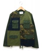 ZUCCA(ズッカ)の古着「ミリタリードッキングジャケット」|カーキ