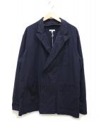 Engineered Garments(エンジニアードガーメン)の古着「3ポケットダブルブレストジャケット」|ネイビー