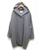 MOGA(モガ)の古着「クリーミーンフリースコート」|グレー
