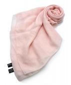 CHANEL(シャネル)の古着「ココマークシルクストール」|ピンク