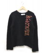 COMME des GARCONS SHIRT(コムデギャルソンシャツ)の古着「モヘアニット」|ブラック