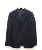 DURBAN(ダーバン)の古着「ウールテーラードジャケット」|ネイビー