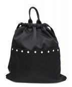 agnes b voyage(アニエスベーボヤージュ)の古着「ナップサック」|ブラック