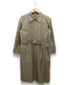 Burberrys(バーバリーズ)の古着「ノバチェックライナー付ステンカラーコート」 ベージュ