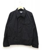 Engineered Garments(エンジニアードガーメン)の古着「チェストポケットシャツジャケット」|ブラック