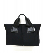 Kawa-Kawa(カワカワ)の古着「wetトートバッグ」 ブラック