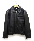 MORGAN PRODUCTIONS(モーガン プロダクションズ)の古着「ライナー付きレザージャケット」|ブラック