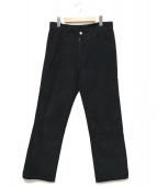 Martin Margiela14(マルタンマルジェラ14)の古着「コーデュロイパンツ」|ブラック