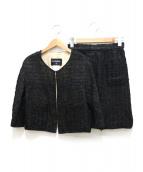 CHANEL(シャネル)の古着「セットアップジャケット」|ブラック