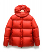 DESCENTE PAUSE(デサントポーズ)の古着「DOWN JACKET」|レッド