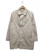 ()の古着「メモリーオックスフォードステンカラーコート」|ベージュ