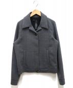 Marc by Marc Jacobs(マークバイマークジェイコブス)の古着「ボクシーウールジャケット」|グレー