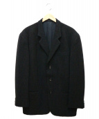 YohjiYamamoto pour homme(ヨウジヤマモトプールオム)の古着「ウールテーラードジャケット」|グレー