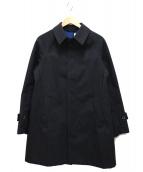 ORCIVAL(オーチバル)の古着「コットンボンディングステンカラーコート」|グレー