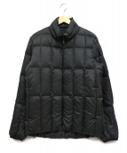 SNOWPEAK(スノーピーク)の古着「ミドルダウンジャケット」 ブラック