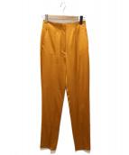 DES PRES(デプレ)の古着「センタープレスパンツ」|オレンジ