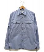 Martin Margiela 10(マルタンマルジェラ10)の古着「Classic Chest Pocket Shirt」|ブルー