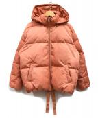 Mila Owen(ミラオーウェン)の古着「ショートダウンジャケット」|ピンク