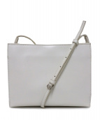 YAHKI(ヤーキ)の古着「ショルダーポシェットバッグ」|ホワイト