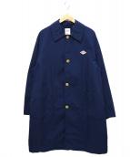 DANTON(ダントン)の古着「ナイロンタフタステンカラーコート」|ネイビー