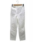 45R(フォーティファイブアール)の古着「コットンリネンサテンイージーパンツ」|ホワイト