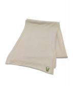 lucien pellat-finet(ルシアンペラフィネ)の古着「カシミヤマフラー」 ホワイト