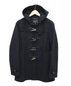 agnes b homme(アニエスベーオム)の古着「ダッフルコート」|ブラック
